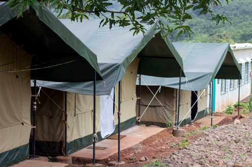 Well equipped tents